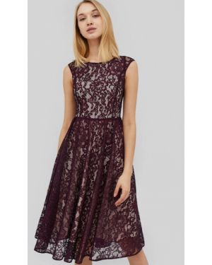 Бордовое вечернее платье Cardo