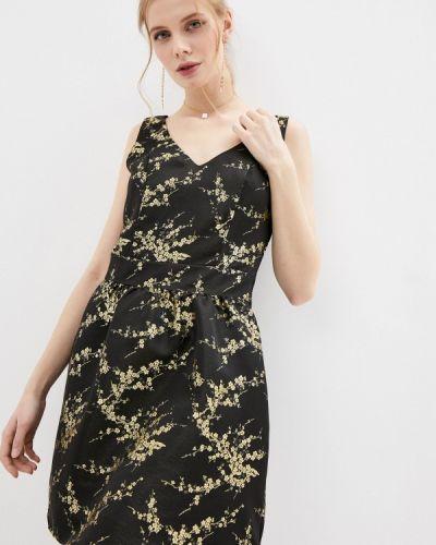 Черное вечернее платье Naf Naf