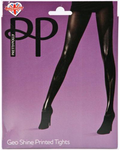 Черные колготки однотонные Pretty Polly
