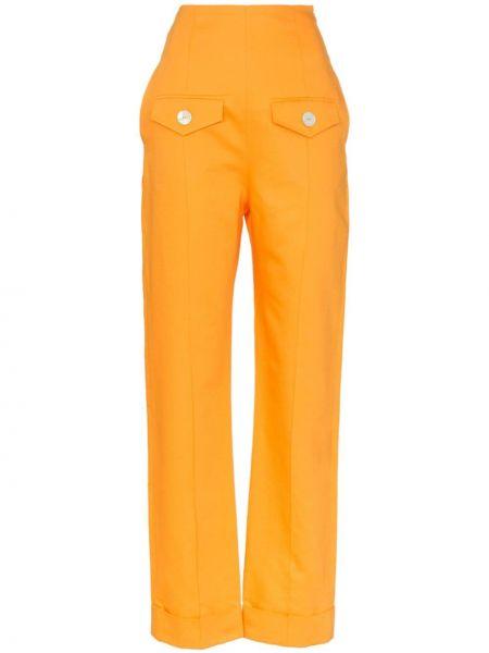 Прямые брюки с воротником George Keburia