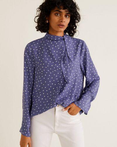 Блузка прямая с декольте Mango