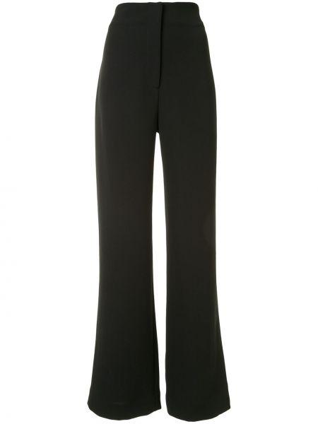 Черные свободные брюки с карманами свободного кроя Manning Cartell