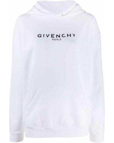 Bluza z kapturem z długimi rękawami bawełniana Givenchy