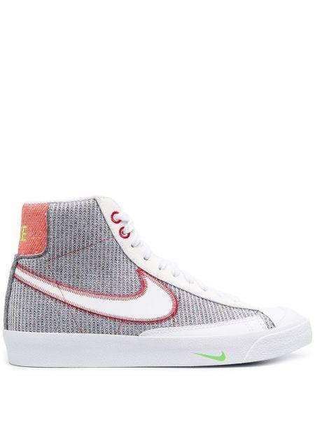 Skórzany koronkowa top na sznurowadłach Nike