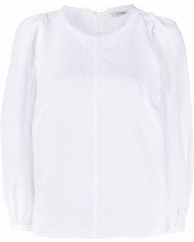 Льняная белая блузка на пуговицах Dorothee Schumacher