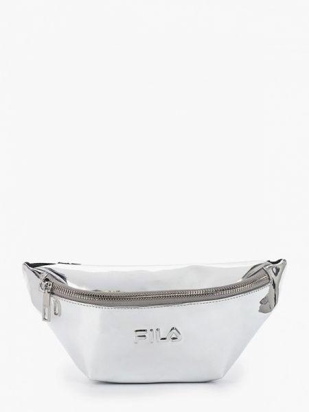 Кожаная сумка поясная весенний Fila