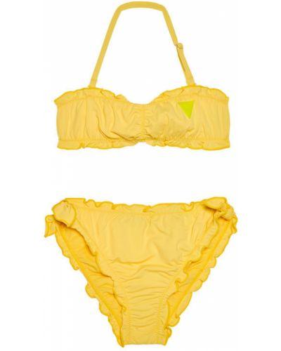 Żółty strój kąpielowy Guess