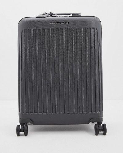 Серый чемодан Piquadro