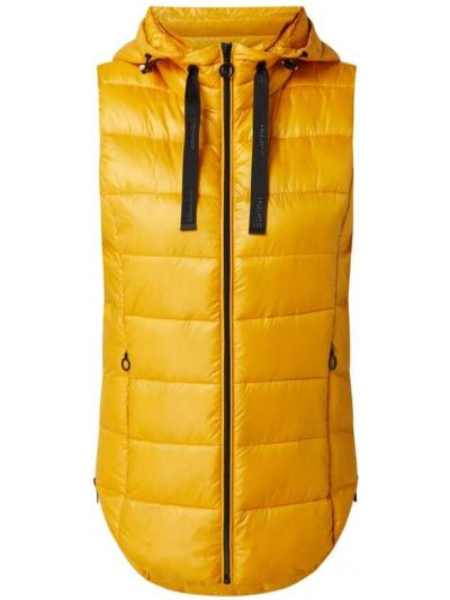 Kamizelka pikowana - żółta Esprit