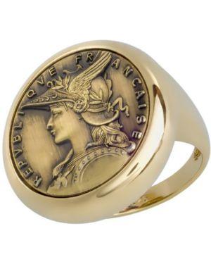 Кольцо из серебра из золота Style Avenue
