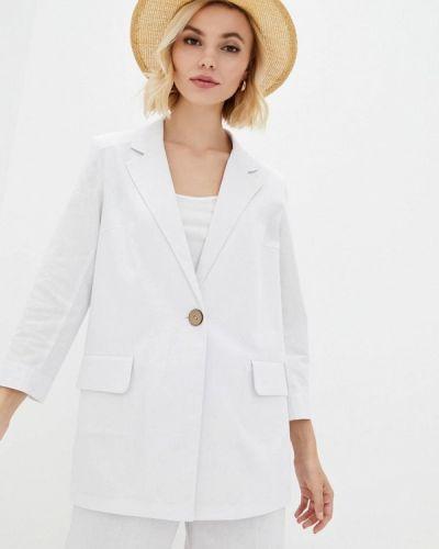 Белый пиджак Zubrytskaya