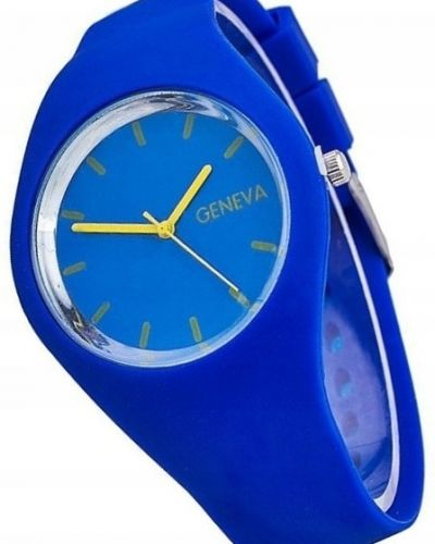 Sport zegarek sportowy granatowy Geneva