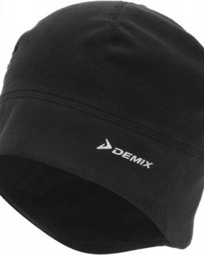 Флисовая шапка - черная Demix