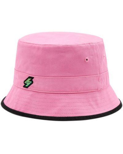 Różowa kapelusz Superdry