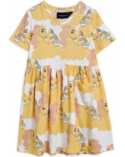 Żółta sukienka Mini Rodini