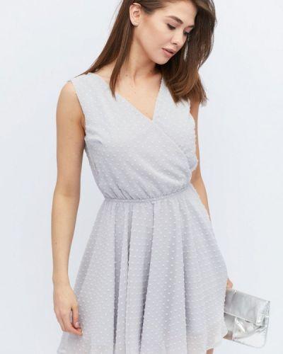 Платье весеннее серое Carica&x-woyz