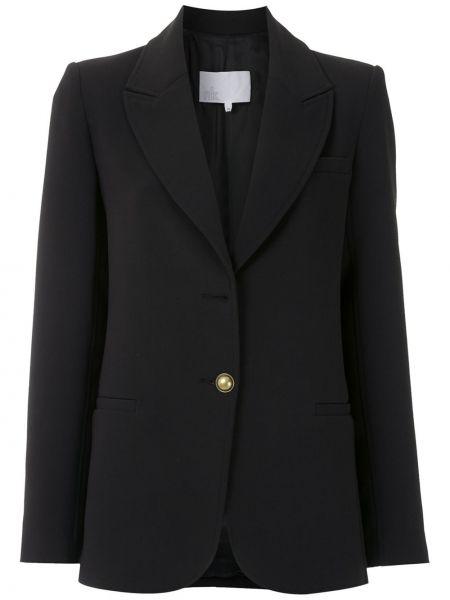 Черный пиджак из вискозы Nk