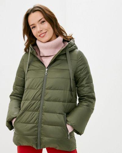 Зеленая теплая куртка Savage