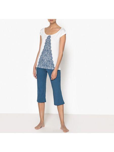 Пижама с брюками с шортами La Redoute Collections