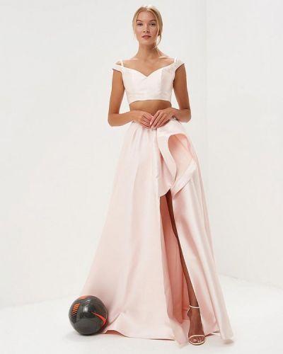 Юбочный костюм розовый X'zotic