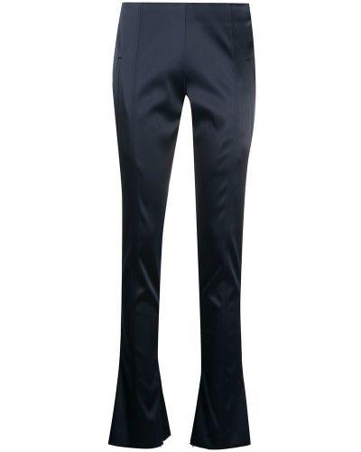 Niebieskie spodnie z niskim stanem Off-white