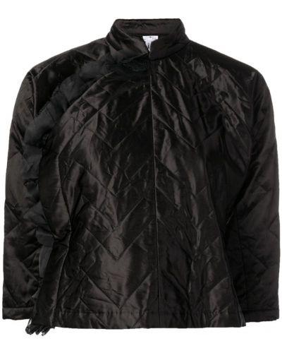 Черная короткая куртка с запахом Comme Des Garçons Comme Des Garçons