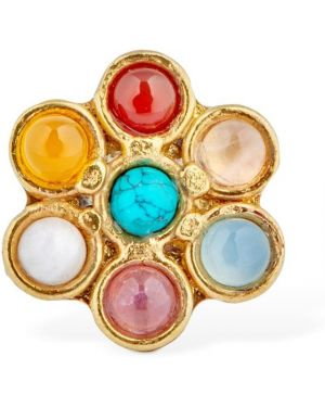 Złoty pierścionek Sylvia Toledano
