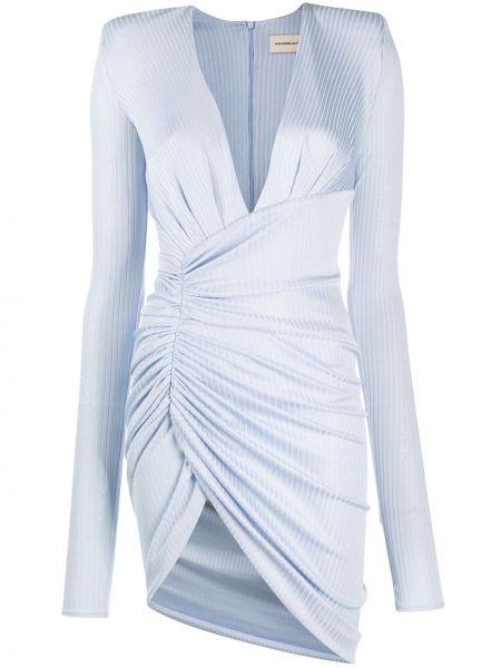 Sukienka mini dla wysokich kobiet z długim rękawem Alexandre Vauthier