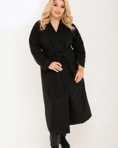 Пальто оверсайз - черное St-style