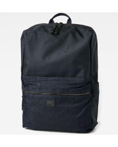 Рюкзак для ноутбука универсальный синий G-star Raw