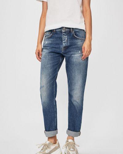 Прямые джинсы бойфренды с карманами на пуговицах с открытой спиной Iceberg