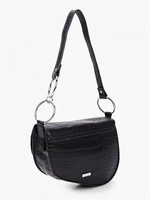 Кожаная сумка через плечо - черная Skinnydip