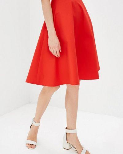 Красная юбка свободного кроя Ruxara