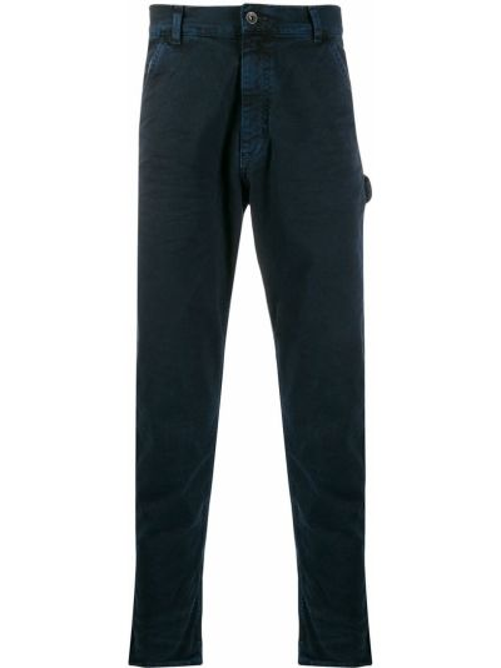 Niebieskie jeansy bawełniane perły Prps