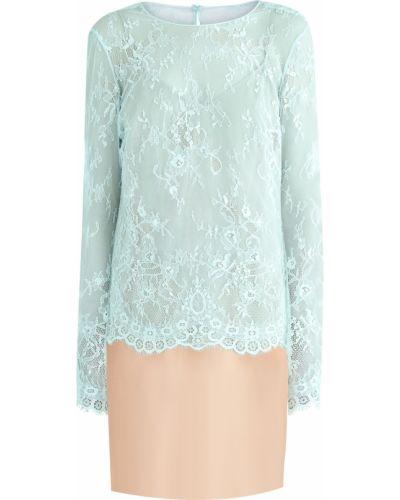 Блузка кружевная с цветочным принтом A La Russe