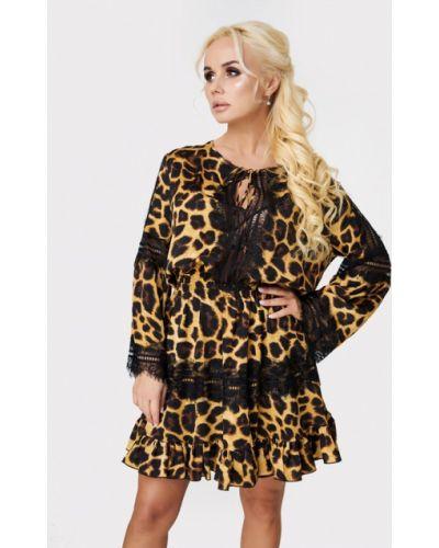 Вечернее платье - коричневое Luxlook