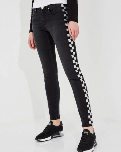 Черные джинсы-скинни Zoe Karssen