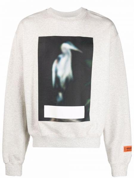 Bluza dresowa - biała Heron Preston