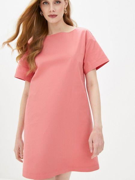 Повседневное платье розовое весеннее Max&co
