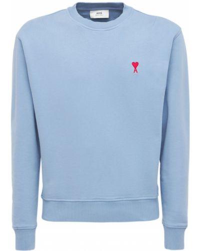 Bluza dresowa - niebieska Ami Alexandre Mattiussi