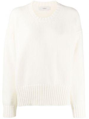 Кашемировый свитер крупной вязки со спущенными плечами в рубчик Pringle Of Scotland