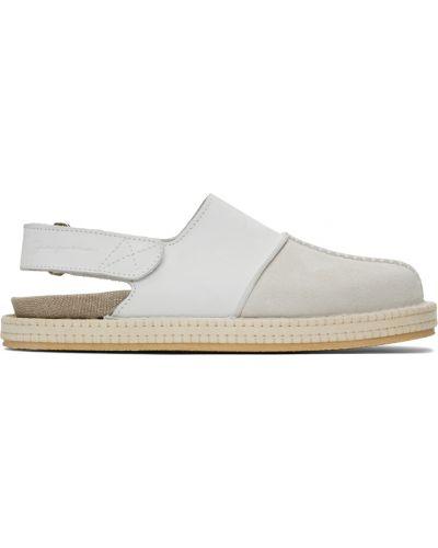 Loafers zamszowe - białe Jacquemus