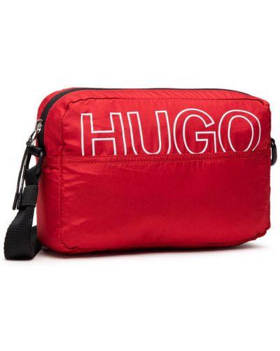 Czerwona torebka crossbody Hugo