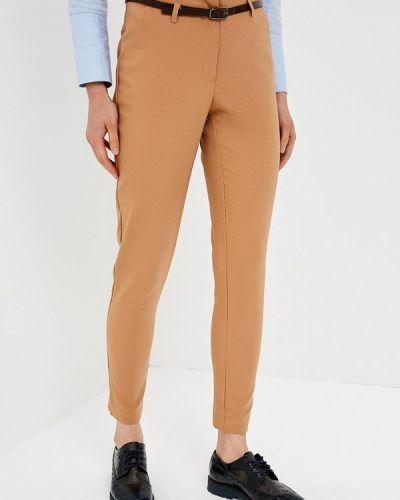 Бежевые классические брюки Zarina