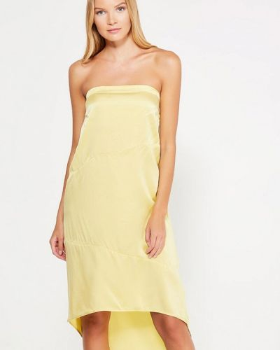 Платье - желтое Sack's