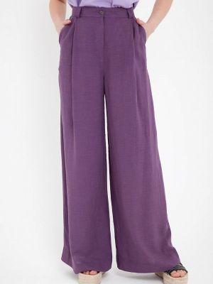Фиолетовые весенние брюки Gregory
