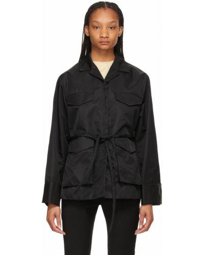 Черная куртка из канваса Toteme