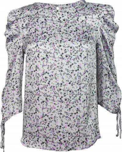 Bluzka w kwiaty - szara Dorothy Perkins
