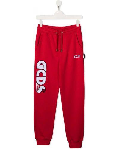 Czerwone joggery Gcds