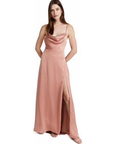 Платье с разрезом Fame And Partners
